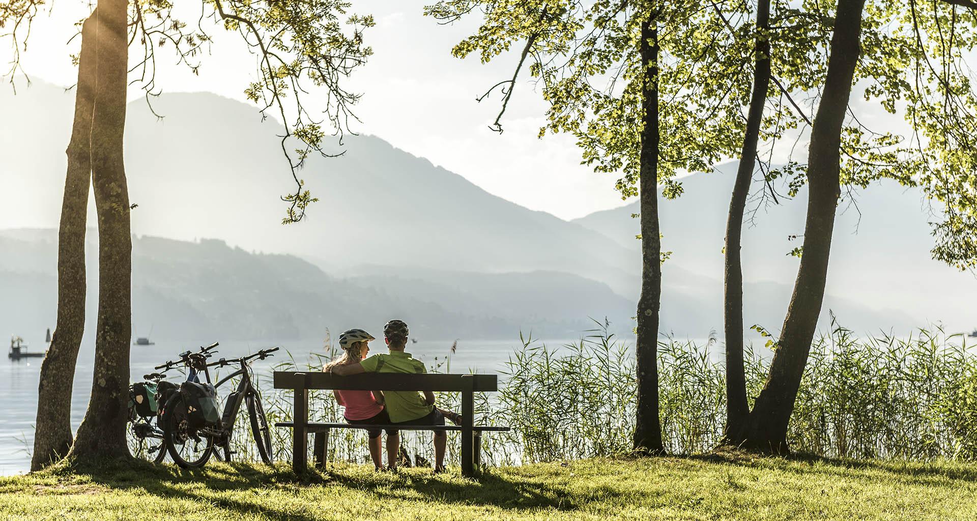 Kärnten, Millstätter See, Seeboden, Klingerpark